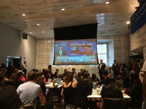 Am Tag nach der Wahl diskutieren Studenten und Professoren der Columbia Journalism School, welche Rolle die Medien spielten (c) Anna Goldenberg