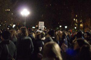 """Love Rally in the Park"" im Washington Square Park am 11. November 2016 (c) Anna Goldenberg"