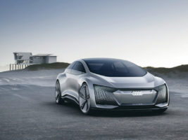 Audi Aicon. Vision eines vollkommen autonom fahrenden 2+2-Sitzers – ohne Lenkrad und Pedalerie (Foto: Audi)