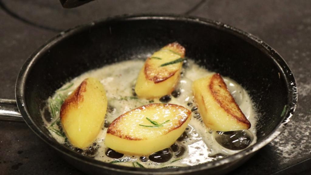 Bratkartoffel Braterdäpfel