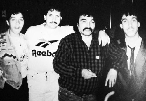 Diese vier Männer wurden Opfer des rassistischen Attentats in Oberwart 1995: Erwin Horvath, Karl Horvath, Josef Simon und Peter Sarközi (v. l.) (Foto: Privat)