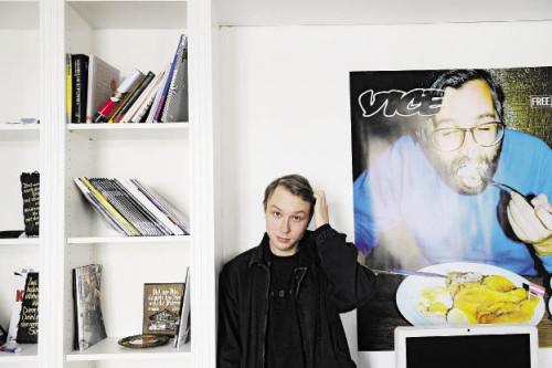 David Bogner, Chefredakteur von Vice Alps (Foto: Heribert Corn)