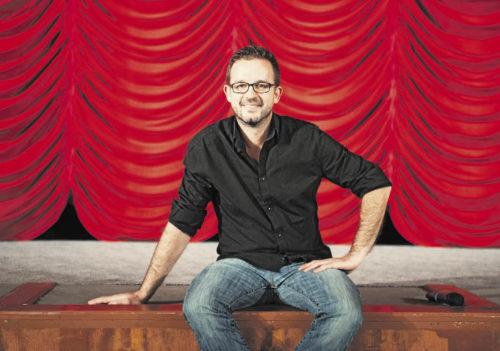 Géza Terner ist Saalregisseur im Gartenbaukino (Foto: Katharina Gossow)