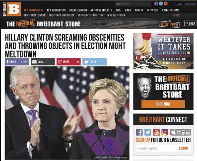 Screenshot: breitbart.com