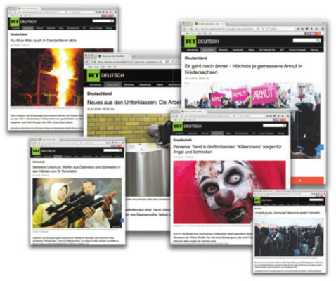 Screenshots: deutsch.rt.com