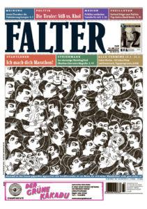 """Die Illustration von Bianca Tschaikner für das Cover der Ausgabe 1–2/2016 sei eine """"Pauschalverunglimpfung und Diskriminierung"""", entschied der Presserat"""