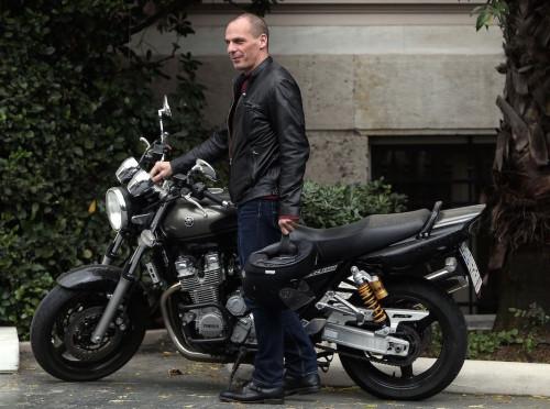 Griechenlands Finanzminister Yanis Varoufakis (Foto: Kostas Baltas / Rex Features / picturedesk.com)