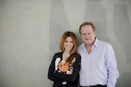 fisch+fleisch-Gründerin Jelincic mit ihrem Neo-Investor Günter Kerbler (Foto: Heribert Corn)