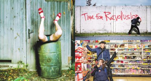 Fotos: Ursula Röck (Links), Nasan Tur (rechts Oben), Oliver Hangl (rechts unten)